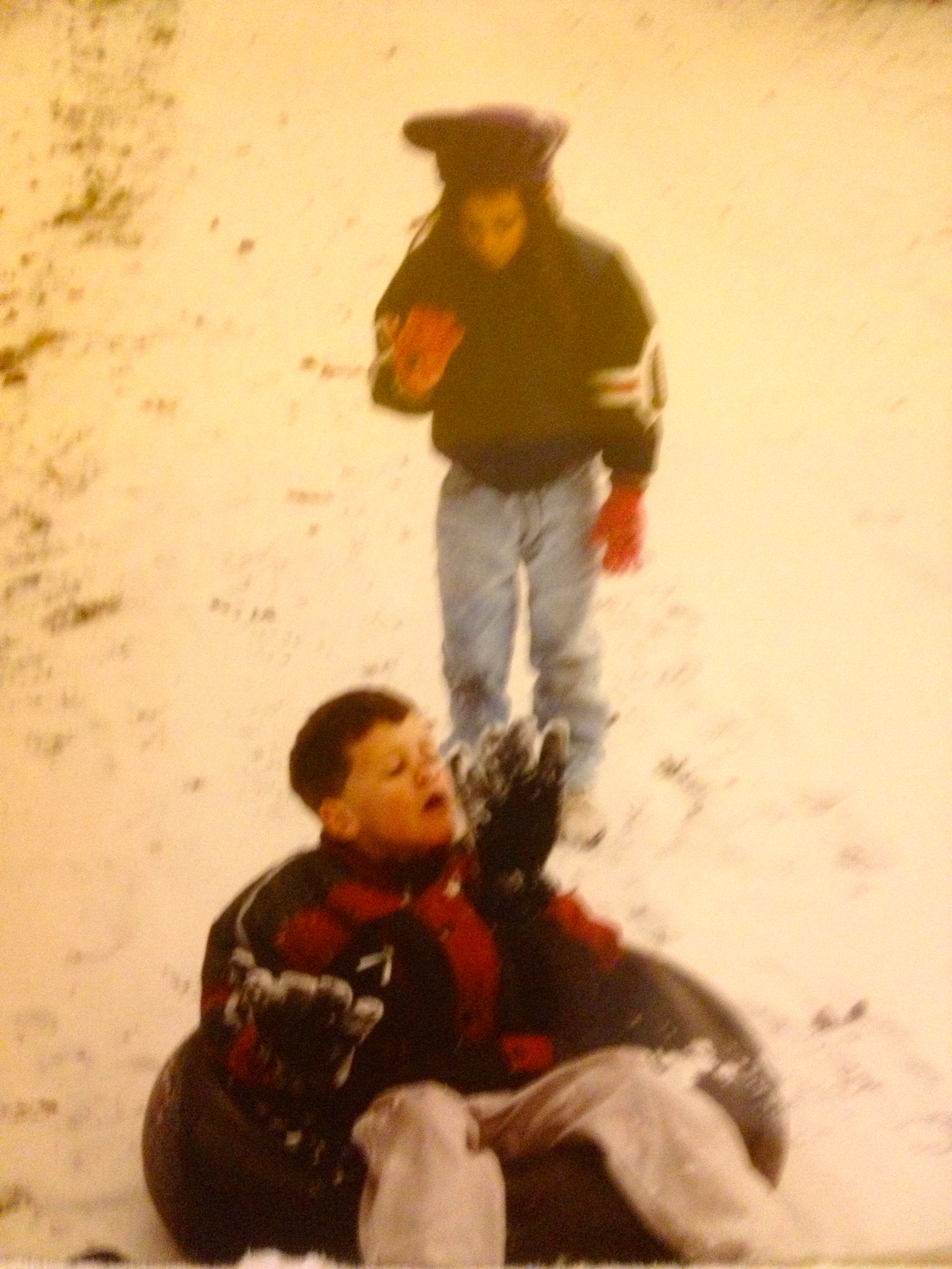 Sled Riding