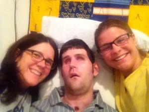 Sue, Ryan, and Christina.