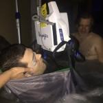 Photos: Ryan Uses Hot Tub